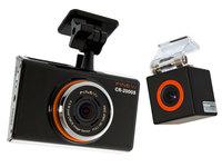 Видеорегистратор с двумя FULL HD камерами FINEVU CR-2000S Black Edition