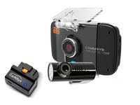 BlackSys CL-100B OBDII-2CH-GPS видеорегистратор с двумя камерами