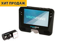 VisionDrive VD-9600WHG видеорегистратор с двумя камерами